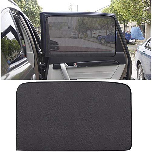 Quiet.T Sombrilla Magnética del Coche Protección Solar Protección contra Rayos UV Cortina Rejilla Magnética para El Coche, Adecuada para Todo Tipo De Vehículo Windows Lateral 50 80CM