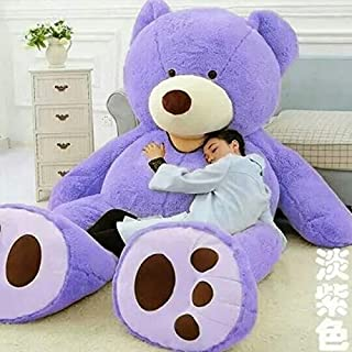 100-340Cm Giant Teddy Bear Big Bear Skin Unstuffed Soft Plush Toy Stuffed Animal Toys for Children Valentine Love Gift Must-Have Unique Gifts Favourite Movie Superhero Party Decorations