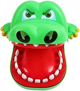 Kid's Toy Crocodile Green Bite Finger Game Toy Home Family Games Gifts Biting Toys for Children