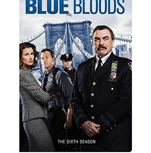 DNJKSA Blue Bloods Saison 6 série télévisée Impression sur Toile HD Art Affiche Photos Salon Photos décor à la Maison -20x30 sans Cadre