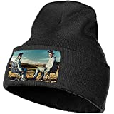 Volver al Polvo Breaking Bad Knit Cap Winter Unisex Warm Ski Cap Gorro Beanie - Negro KCP-421