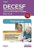 DECESF - DC 1 à 4 - Préparation complète pour réussir sa formation - Tout-en-un - Diplôme d'État de Conseiller en économie sociale familiale