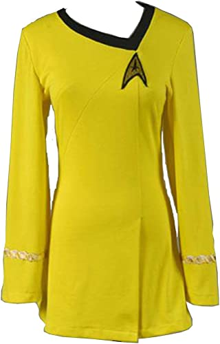 Seleccione de las marcas más nuevas como MingoTor MingoTor MingoTor Star The Hembra Duty Uniforme Vestido amarillo Disfraz Traje de Cosplay Ropa mujer XS  edición limitada