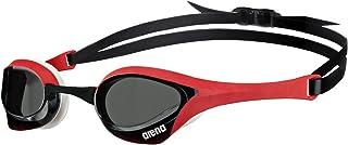 ARENA Cobra Ultra Gafas de natación, Unisex Adulto, Smoke/Red/White, Talla Única