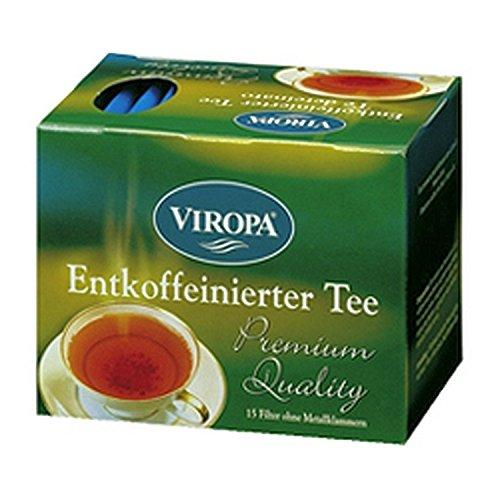 Entkoffeinierter Tee Premium 15 Filterbeutel - Viropa