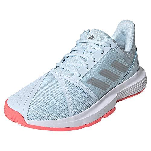 Adidas Courtjam Bounce - Botas de fútbol para Hombre, Color Gris, Negro y Blanco, Color, Talla 45 EU