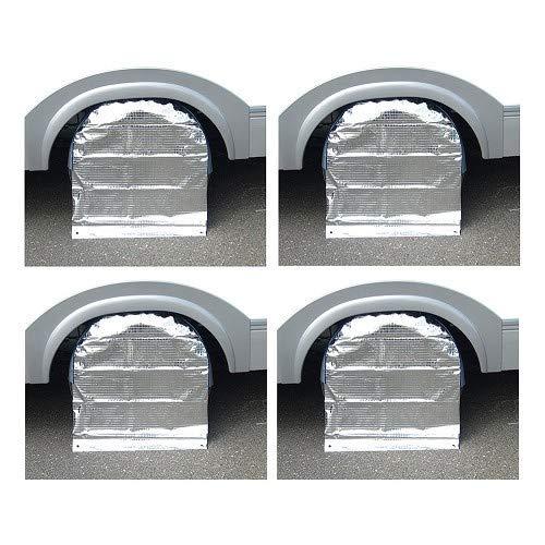 Kit de 4 Protections de Roue 14 Pouces - Caravane & remorque