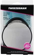Tweezerman LTD 10x Lighted Mirror