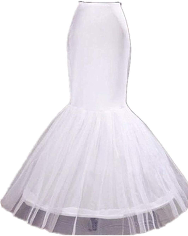 Normal//Plus Size Mermaid Trumpet Style Wedding Petticoat Skirt Underskirt Slip A