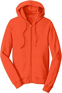 8.5 oz Favorite Fleece Full-Zip Hooded Sweatshirt in Sizes XS-4XL