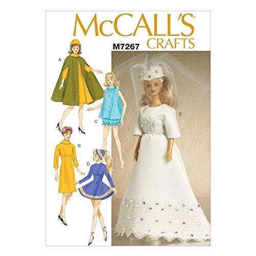 McCall 's Patterns mc7267osz 27,9cm Puppe Kleidung