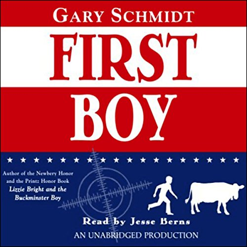First Boy audiobook cover art