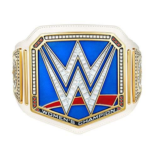 WWE Authentic Wear Smackdown Women's Championship Replica Title Belt Multi