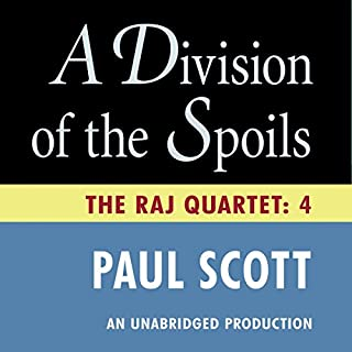 A Division of the Spoils audiobook cover art