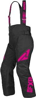 FXR Clutch Youth Pant (Black/Fuchsia, Size 10)