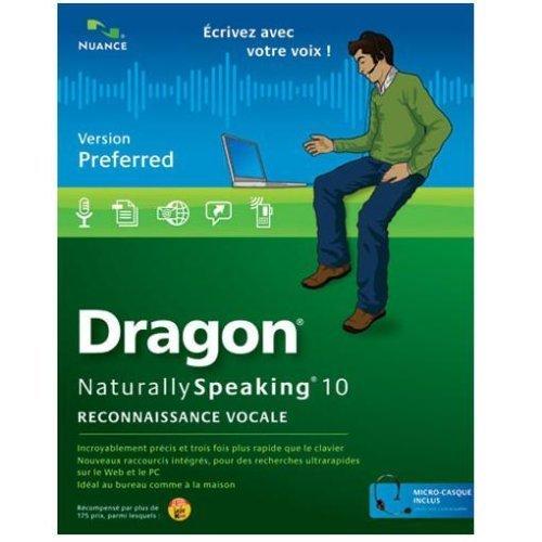 Dragon naturally speaking preferred version 10 - Education OLV