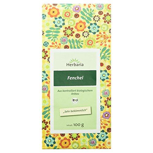 Herbaria Fenchel - ganz , 1er Pack (1 x 100 g Tüte) - Bio