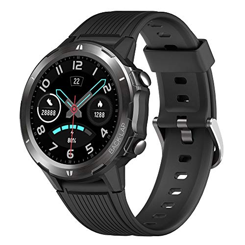 YAMAY Montre Connectée Homme Femmes Smartwatch Android iOS...