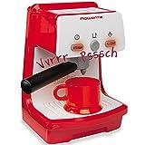 Unbekannt Rowenta Espressomaschine mit Funktionen, 10x18 cm - Kaffeemaschine Kinder Küche Spielzeug...