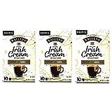 Baileys Irish Cream Original Coffee K Cups Bulk Pack of 3 Boxes - 10 K Cups Per Box - 30 K Cups Total of Baileys Irish...