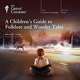 A Children's Guide to Folklore and Wonder Tales audiobook cover art