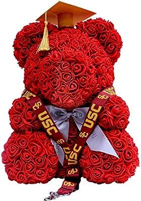 9ec46ddf6 Amazon.com: Rose Bear Teddy Bear Cub Forever Artificial Rose ...