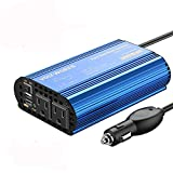 300W Pure Sine Wave Power Inverter for Car Truck RV Adapter DC...