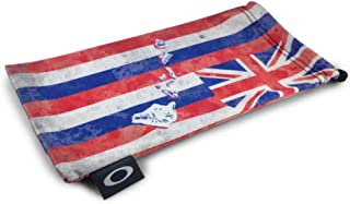 Oakley Hawaii Flag Microbag Sunglass Accessories - Red/One Size