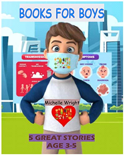 Books for Boys: 5 Great Stories for 3-5-year-old: My Brother Loves Vegetables, Money Sense for kids, I Have a can-do attitude, Chatty Charlie and At the beach. (English Edition)