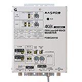 マスプロ電工 新4K8K衛星放送(3224MHz)対応 共同受信用 FM・V-Low・UHF・BS・CSブースター(40dB型) FUBCAW40