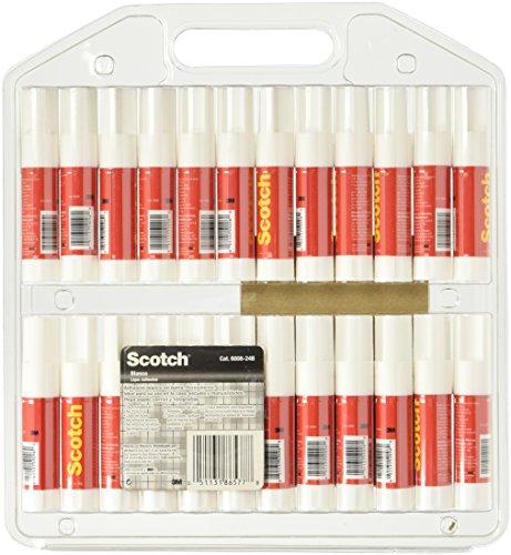 Scotch Permanent Glue Sticks (6008-24C) 24 PACK Photo #3