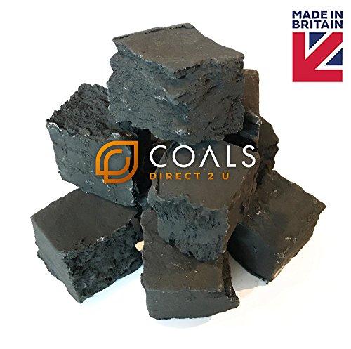 10x große Platz Zerrissene Kohlen
