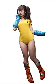 The Seven Deadly Sins Cosplay Costume Full Set with Accessory