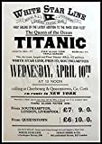 GenericBrands White Star Line Titanic The Queen of The