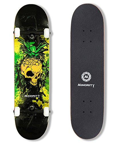 Our #4 Pick is the MINORITY 32-Inch Skateboard