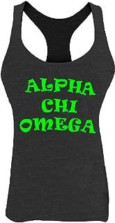 KYS Womens Alpha Chi Omega Racerback Tank Top