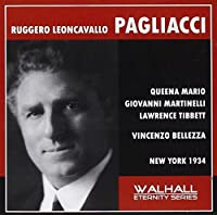 Leoncavallo - Pagliacci (New York 1934 Bellezza) by Ruggerio Leoncavallo (2008-03-06)