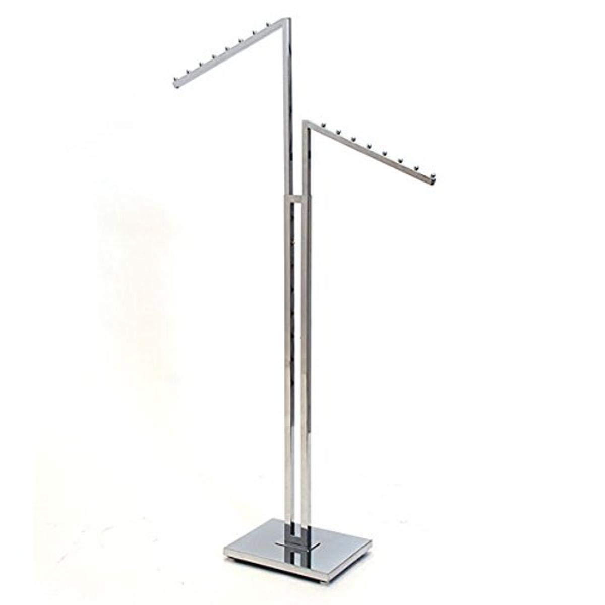 Max 54% OFF KC Store Max 90% OFF Fixtures 28203 2-Way Garment Arms 2 Rack Sq Slant with