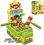 Boxgear Whack a Mole Game for Toddlers -Electronic Mole Bop Game - Pounding Toy for Kids with 2 Small Toy Hammers - Preschool Learning Toy for 3-Year-Old and up for Boys and Girls