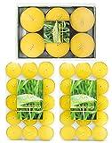 CITRONELLA 36er Jumbo Pack Teelichter Anti Mücken Outdoor Kerze