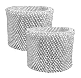 2-Pack Air Filter Factory Replacement For Sunbeam SCM3501, SCM3502, SCM3609, SCM3656, SCM3657 Humidifier Filter