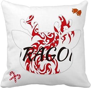OFFbb-USA Animal Wings Myth Oriental Dragon Western Dragon - Funda de almohada cuadrada