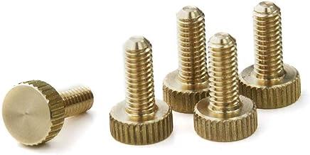 PrecisionGeek Messing Kartelschroeven M6 x 8 mm 1 set (5 stuks)