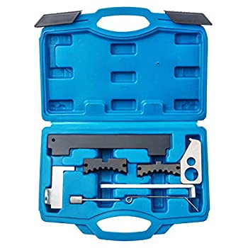 Orion Motor Tech Engine Camshaft Tensioning Locking Alignment Timing Belt Tool Kit Compatible with Chevy Cruze Aveo Alfa Romeo Fiat 16V 1.4 1.6 1.8 en6340 km6340
