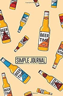 Simple journal - Everyday is your day: Oktoberfest colorful flat cartoon background notebook, Daily Journal, Composition Book Journal, Sketch Book, ... sheets). Dot-grid layout with cream paper.