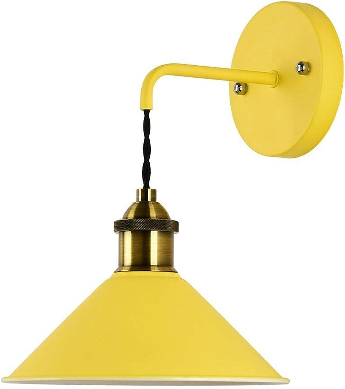 Xiao Fan    Schlafzimmer Flur Gang Treppen Einfacher Wohnraum E27  1 (Farbe  Gelb)