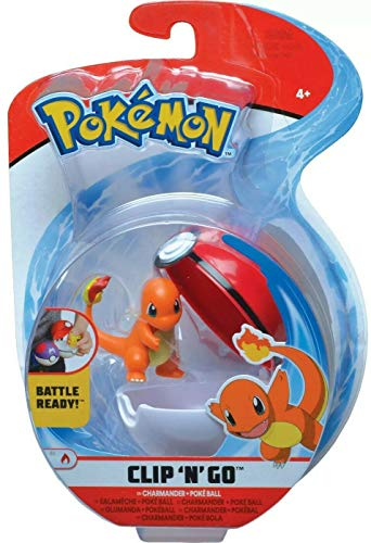 Pokèmon Wicked Cool Toys Clip 'N' Go Charmander 2-Inch Figure Pack