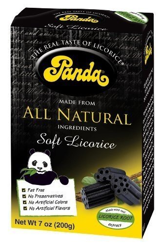 Popular standard Panda All Natural Soft Licorice Chew of Pack 198 Value 12 Challenge the lowest price of Japan ☆ gm
