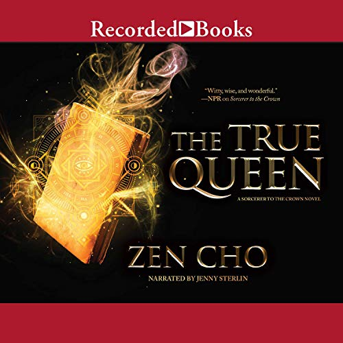 The True Queen audiobook cover art