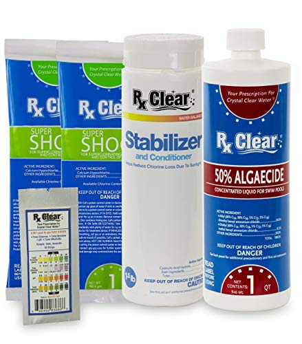 Pool Chemical Spring Start-Up Kit - Up To 15,000 gal. (more sizes available)